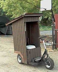 Are Port-a-Potties on the way out?